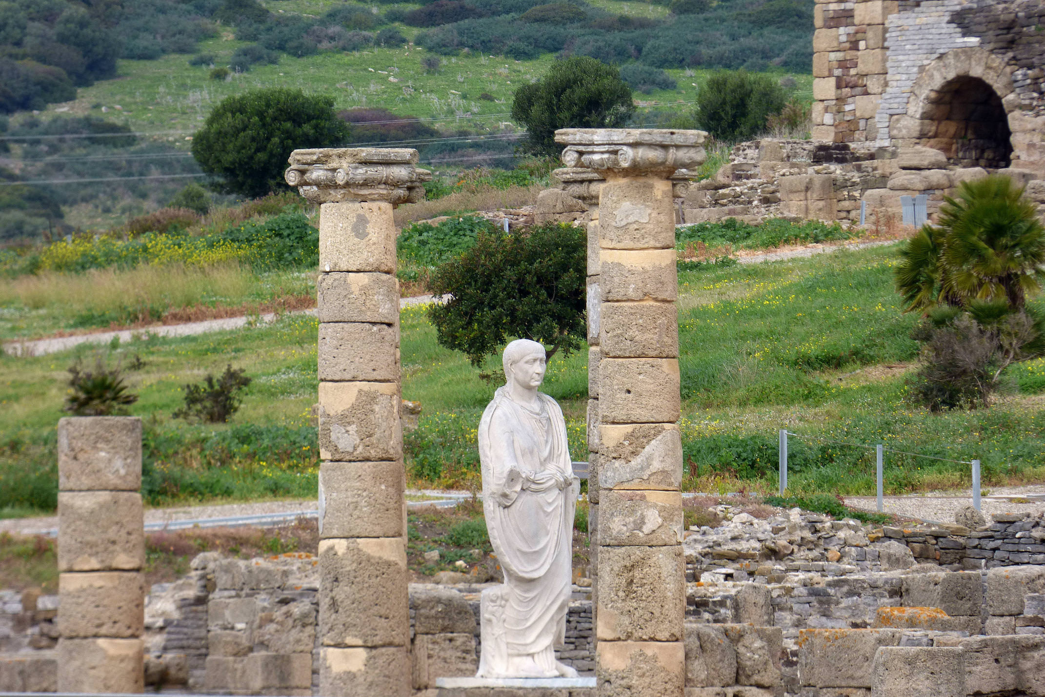 Spain andalucia cadiz bolonia baelo claudia roman ruins