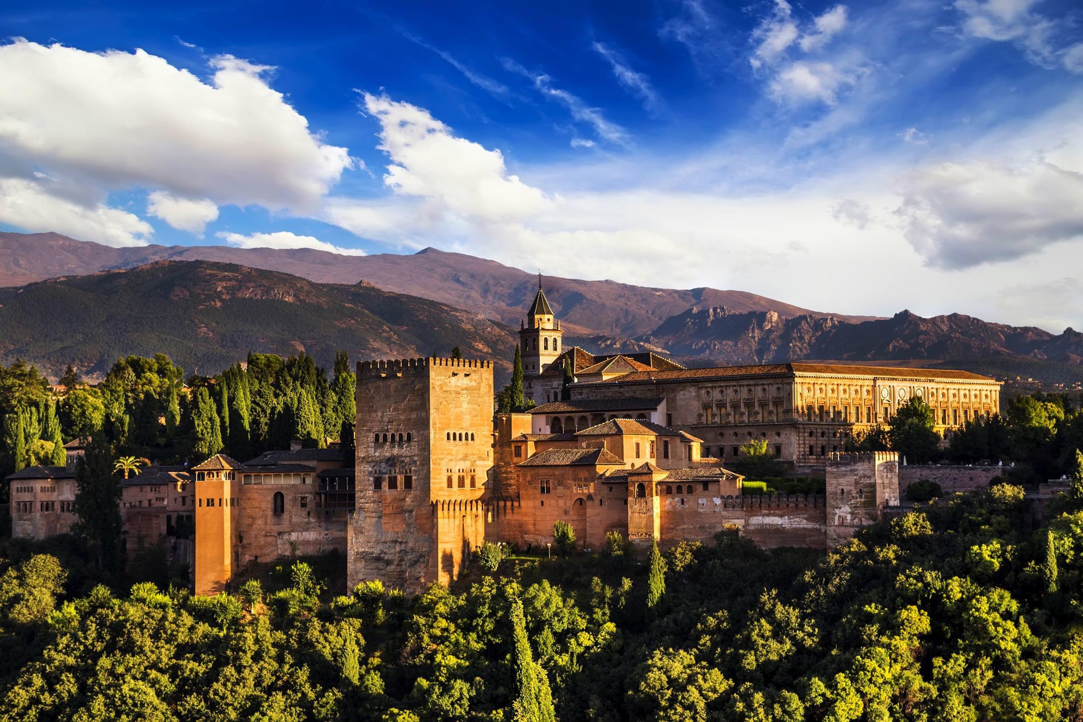 Spain month of wonders map