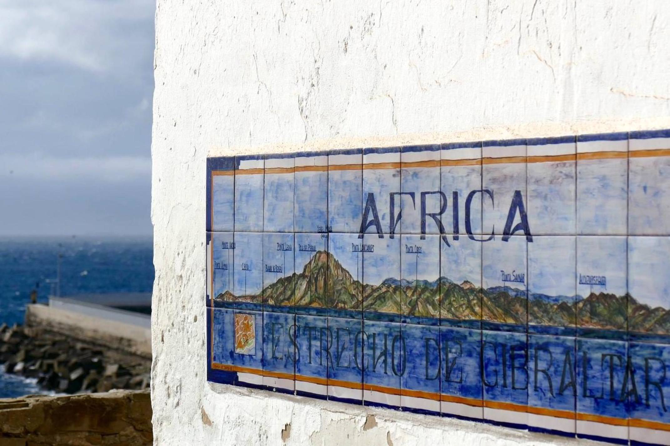 Spain andalucia straits of gibraltar from tarifa