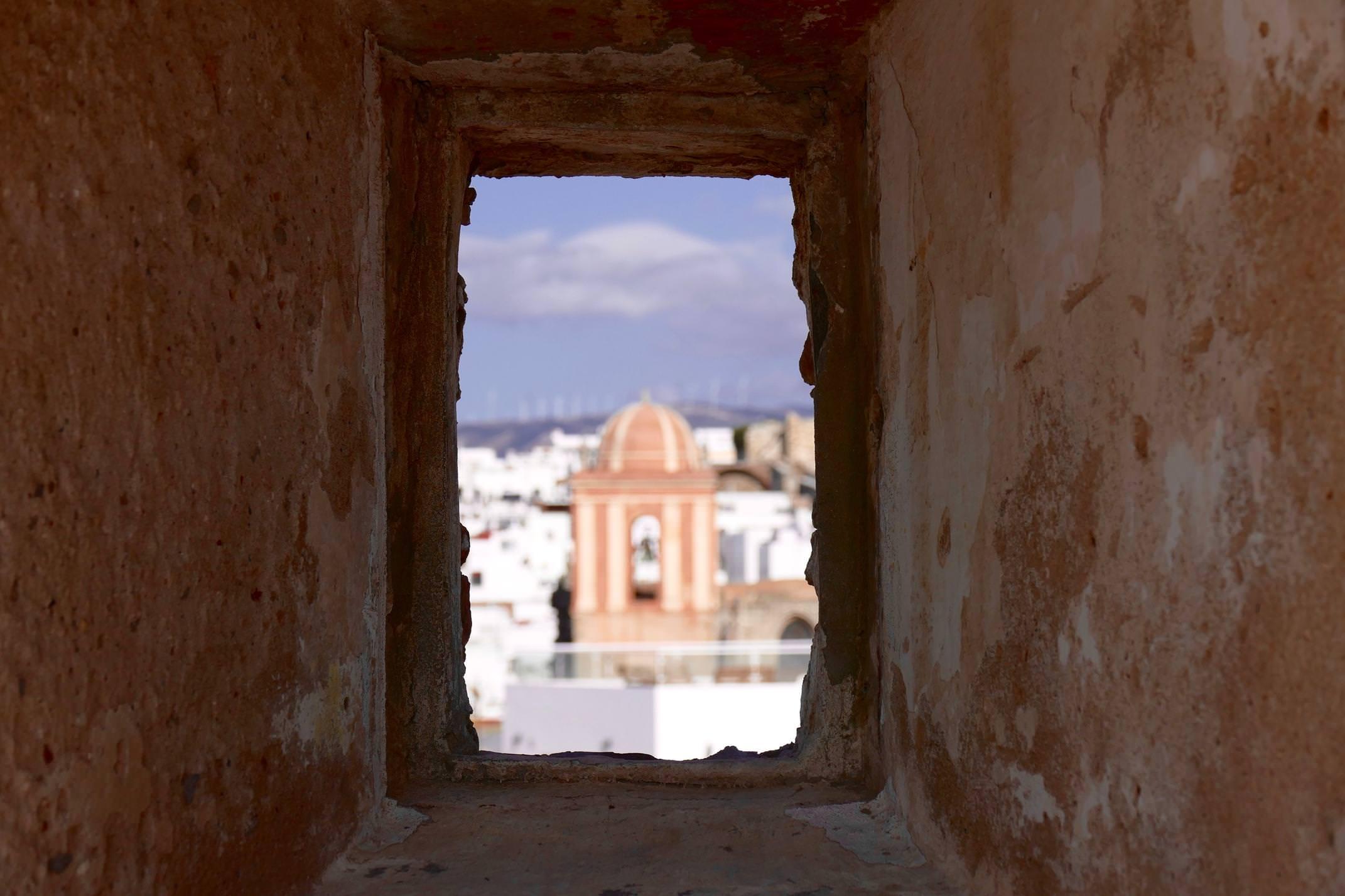 Spain andalucia straits tarifa window