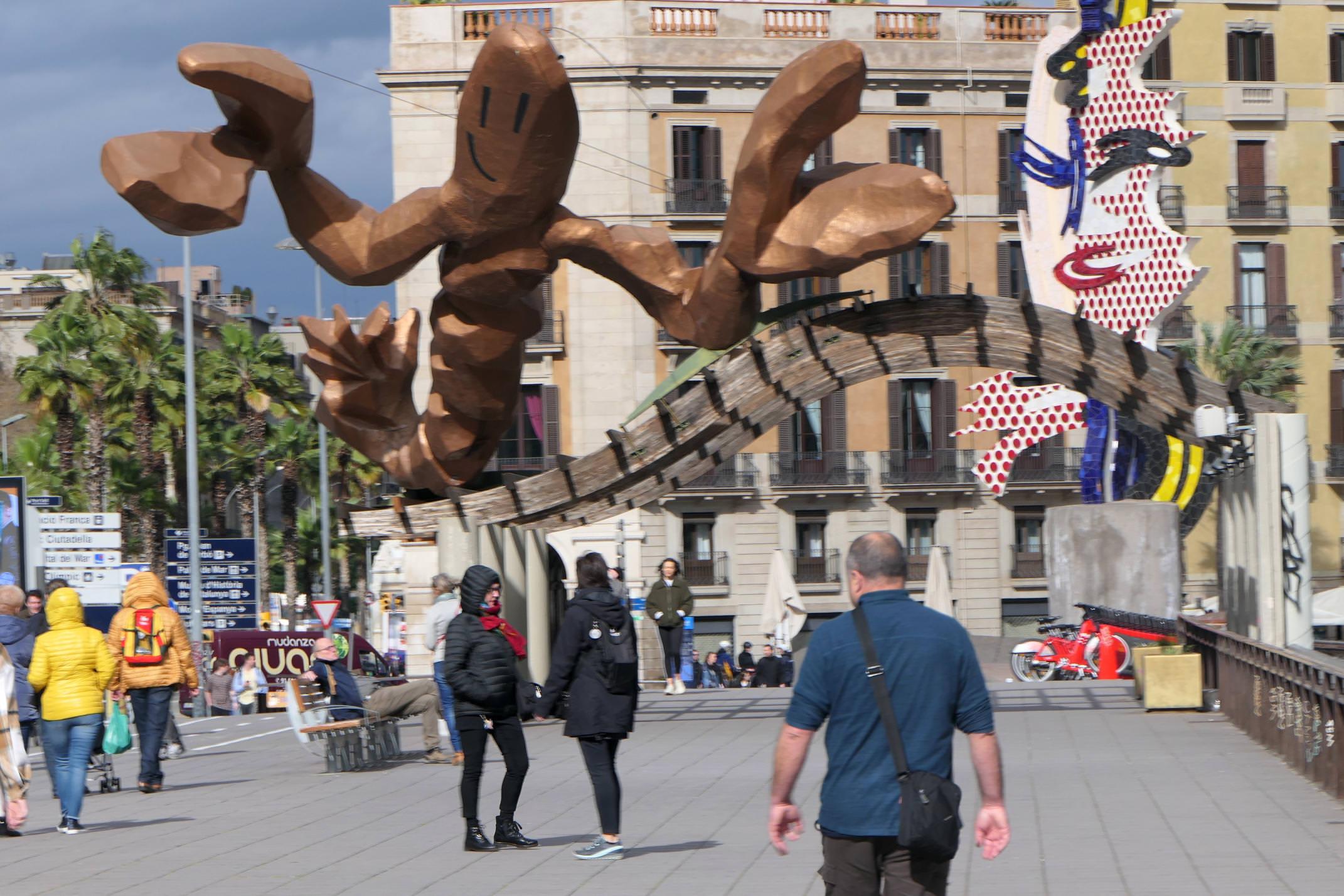 Spain barcelona port mariscal c diego