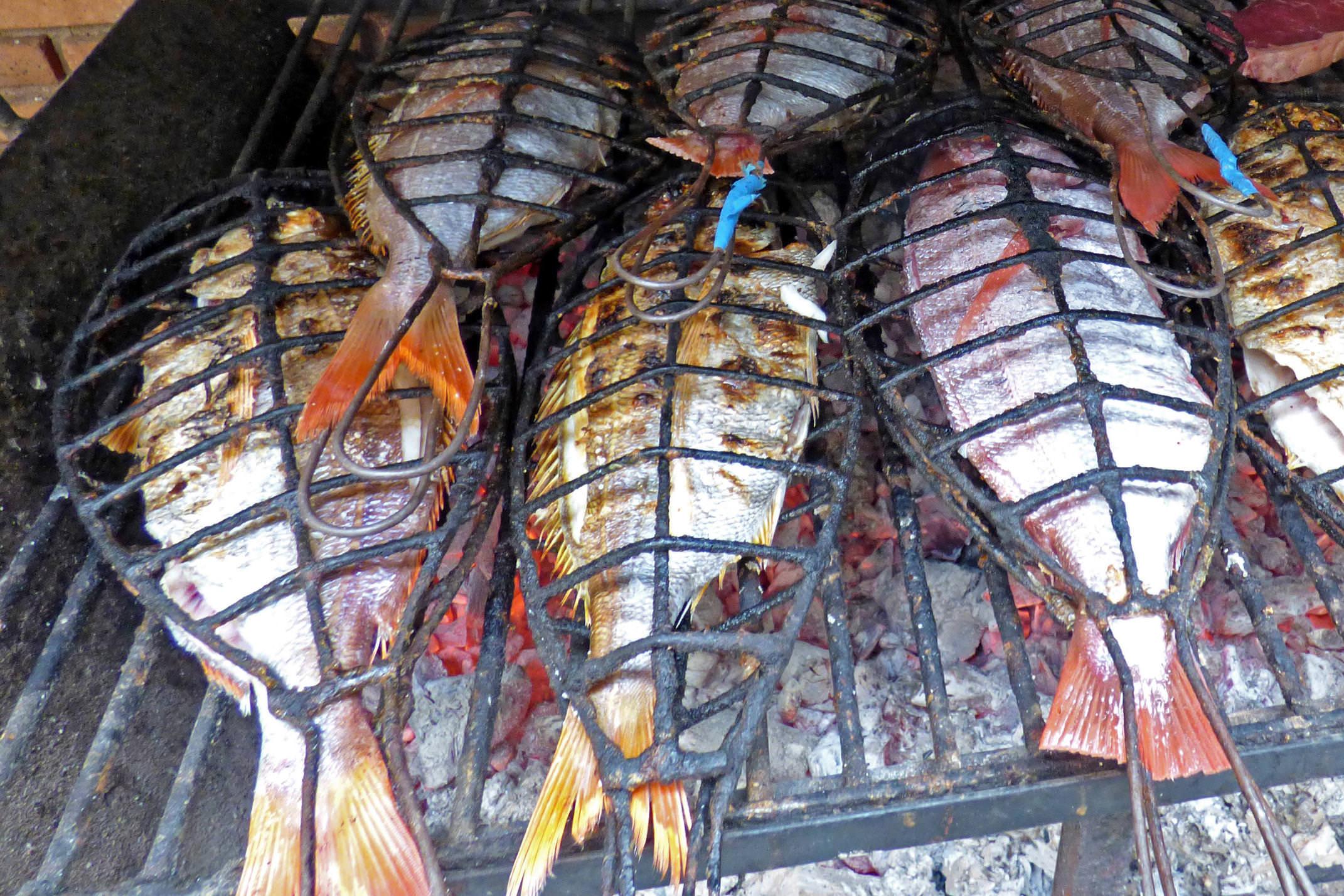 Spain basque country inn to inn getaria grilled fish