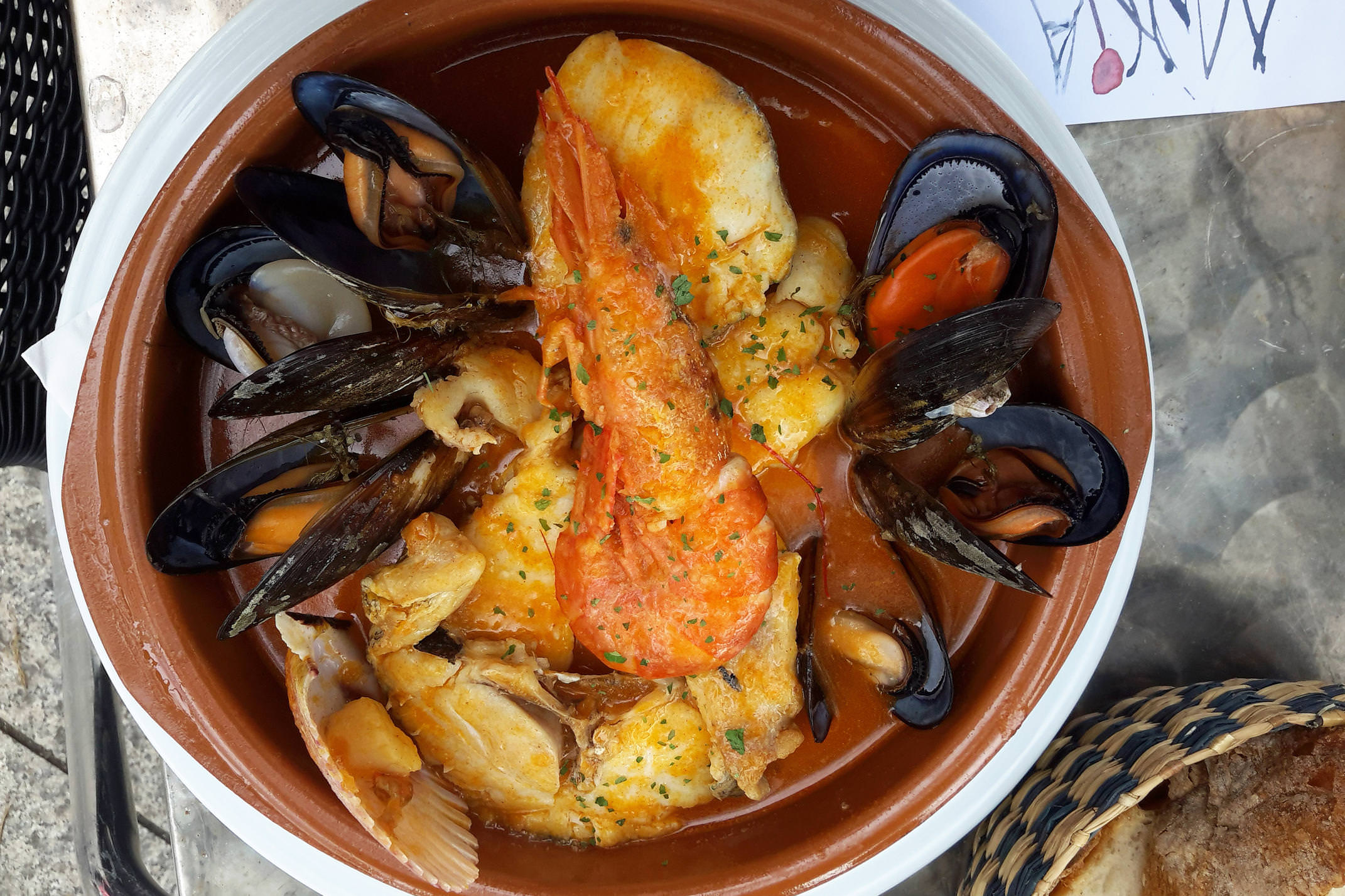 Spain galicia camino costa da morte muxia seafood