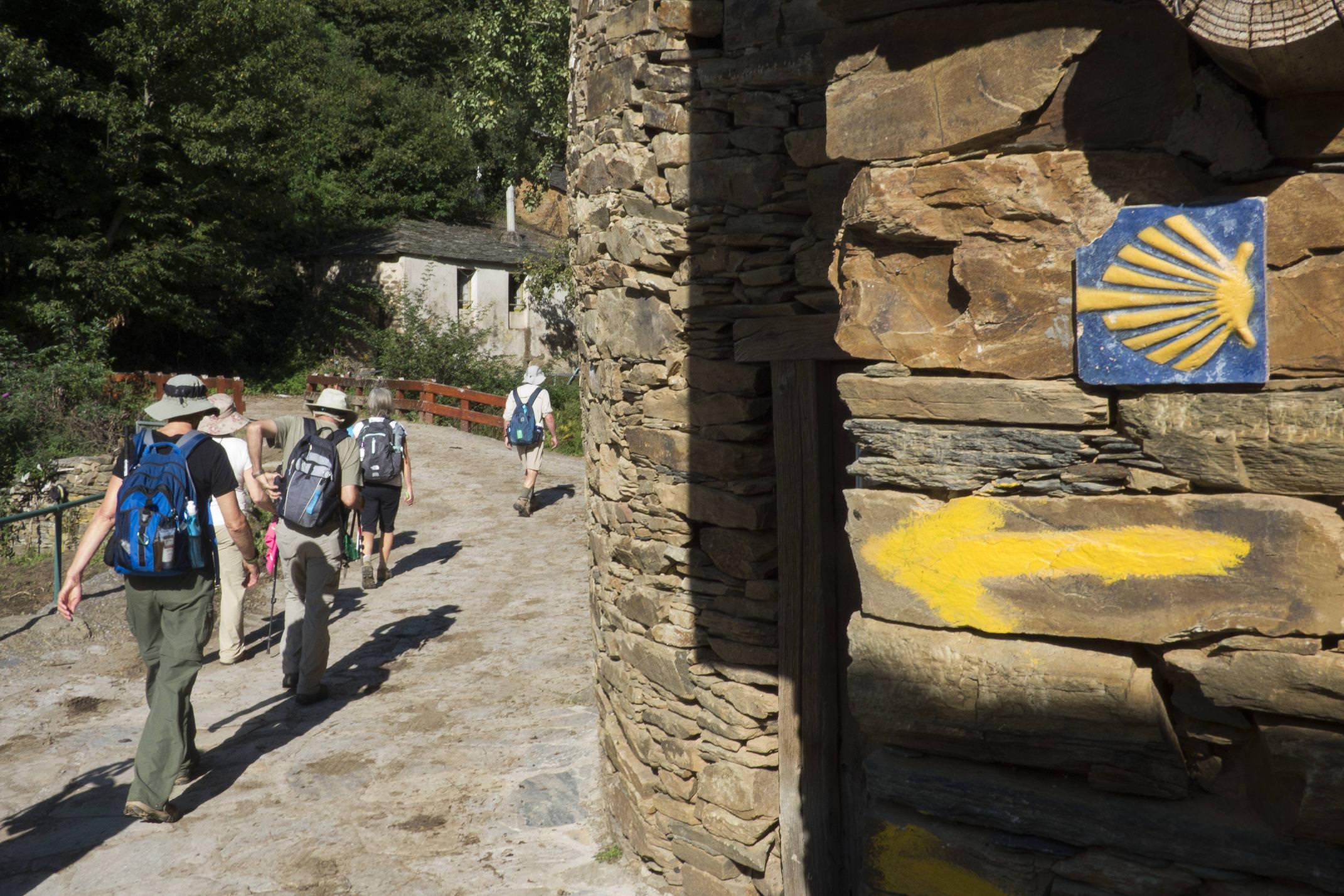 Spain galicia camino triacastela sarria sanxil waymark