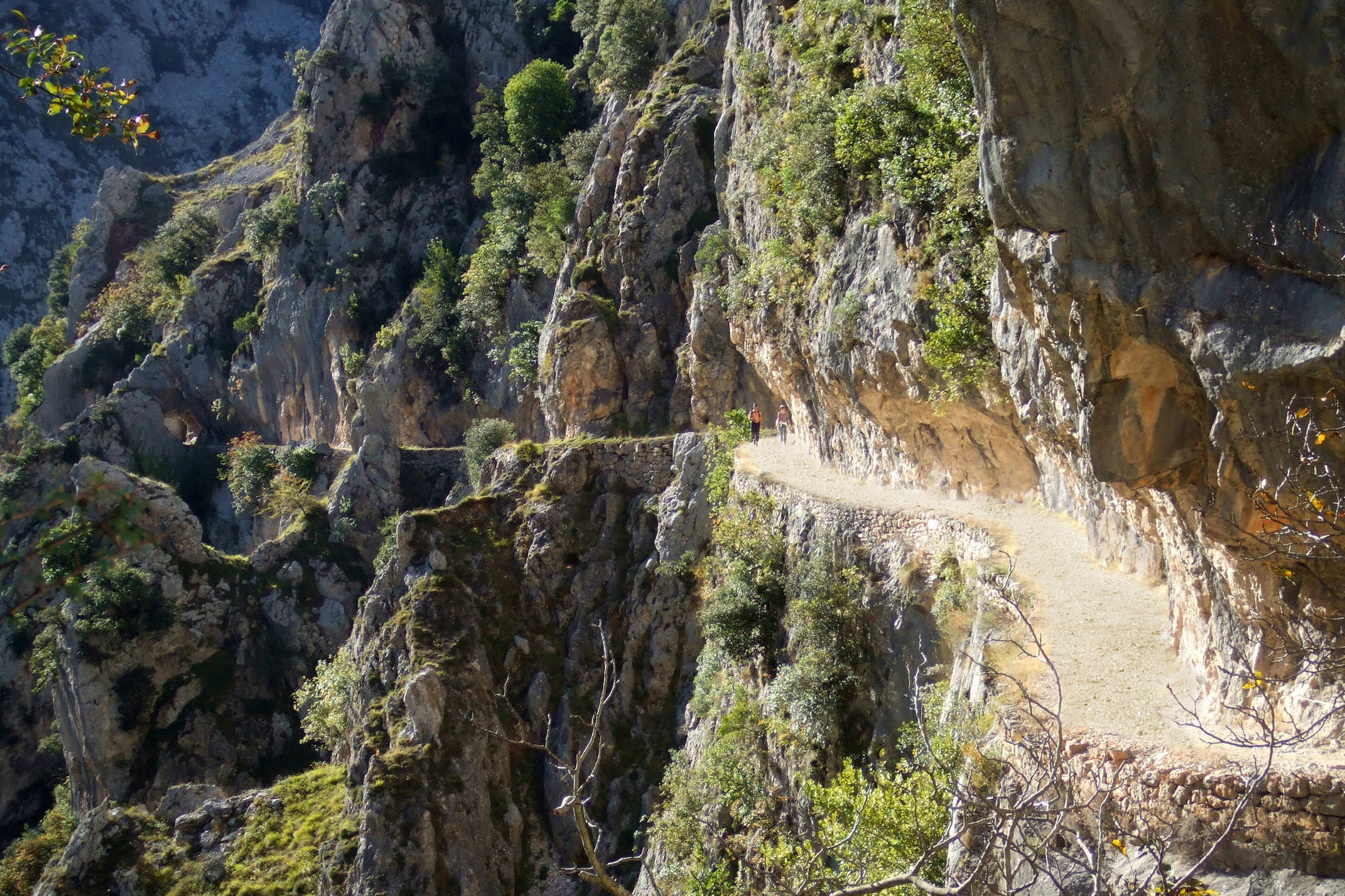 Spain picos de europa cares gorge pathway
