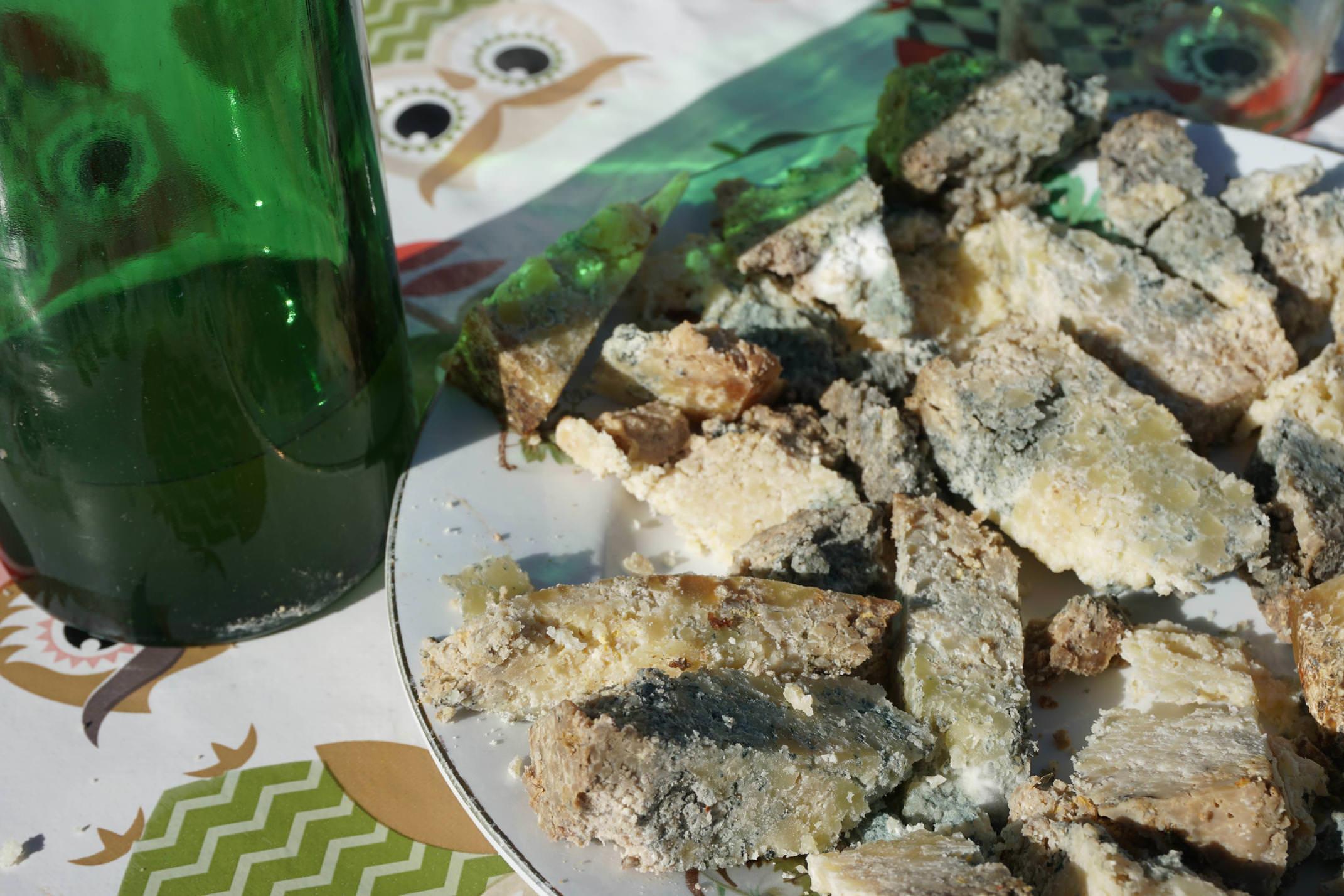 Spain picos de europa cider humartini gamoneu cheese