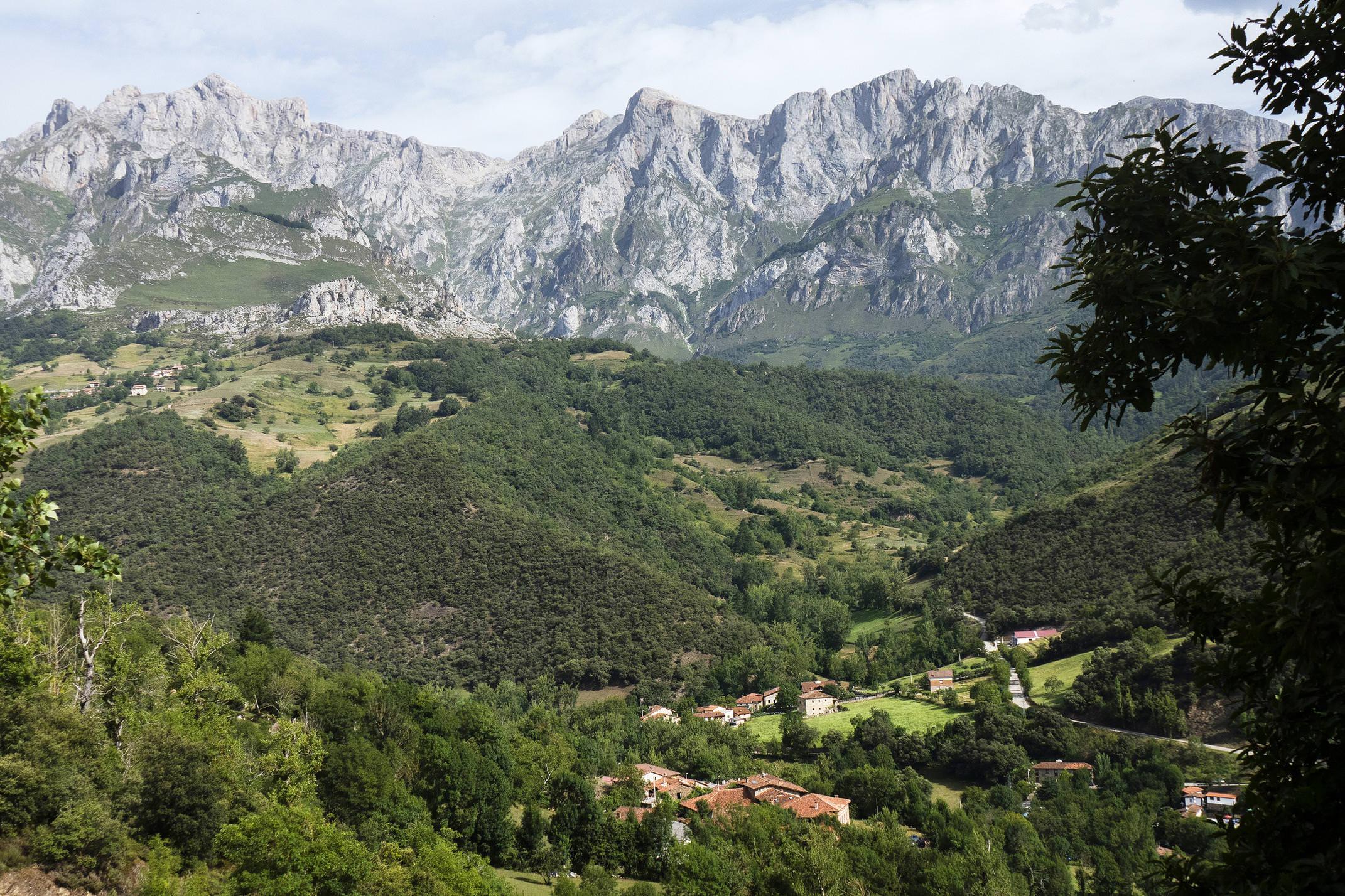 Spain picos de europa liebana baro san pelayo c diego pura