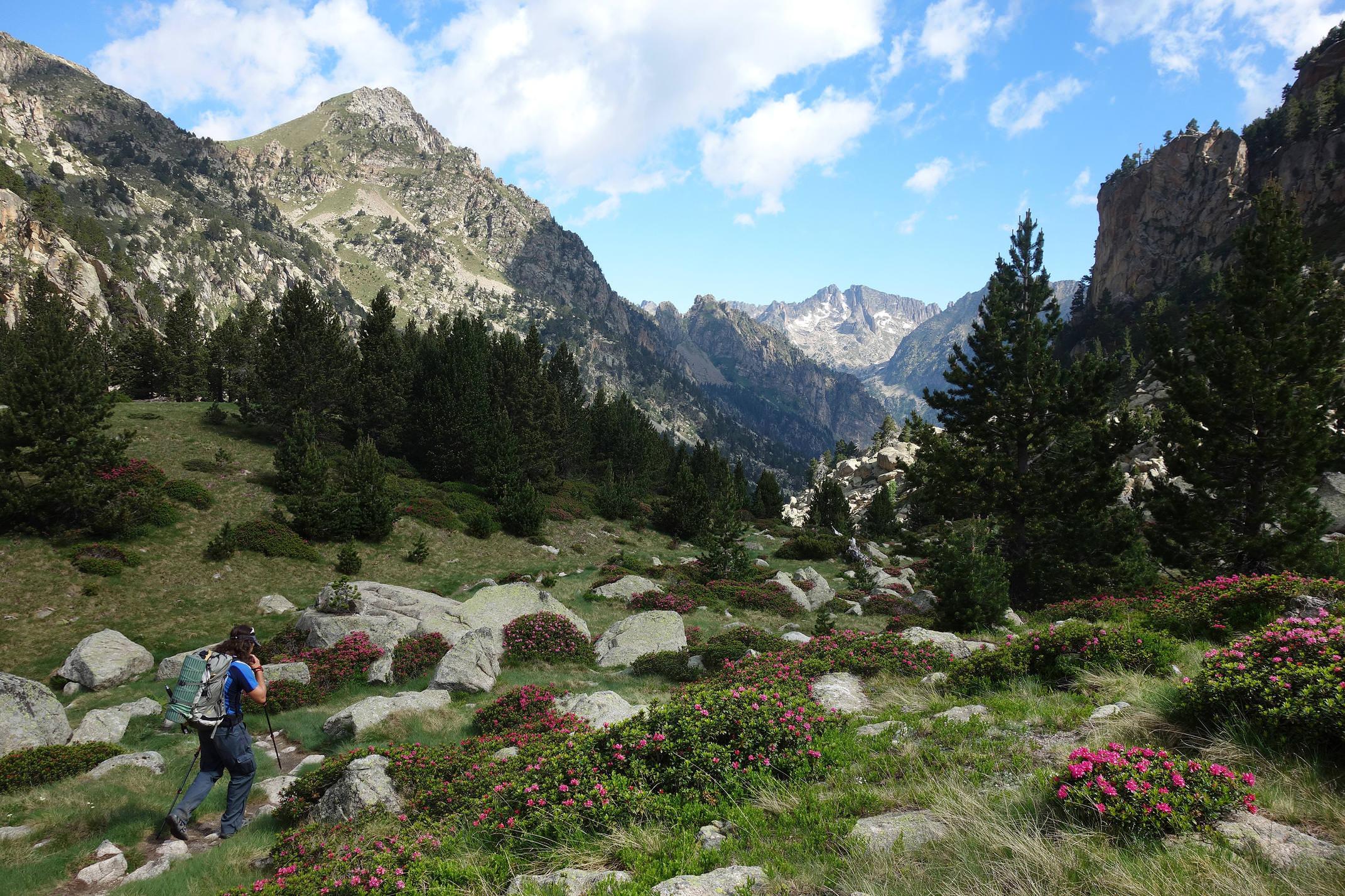 Spain pyrenees catalonia aiguestortes summer high peaks 2 c diego pura