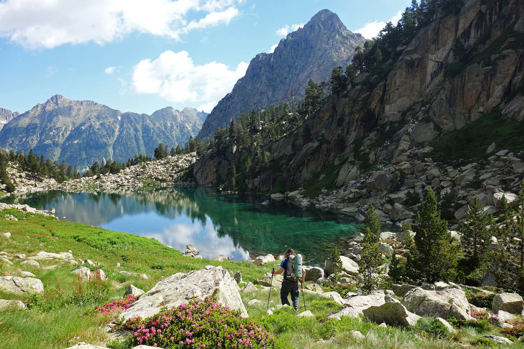 Spain pyrenees catalonia aiguestortes summer lake hiking 2c diego pura