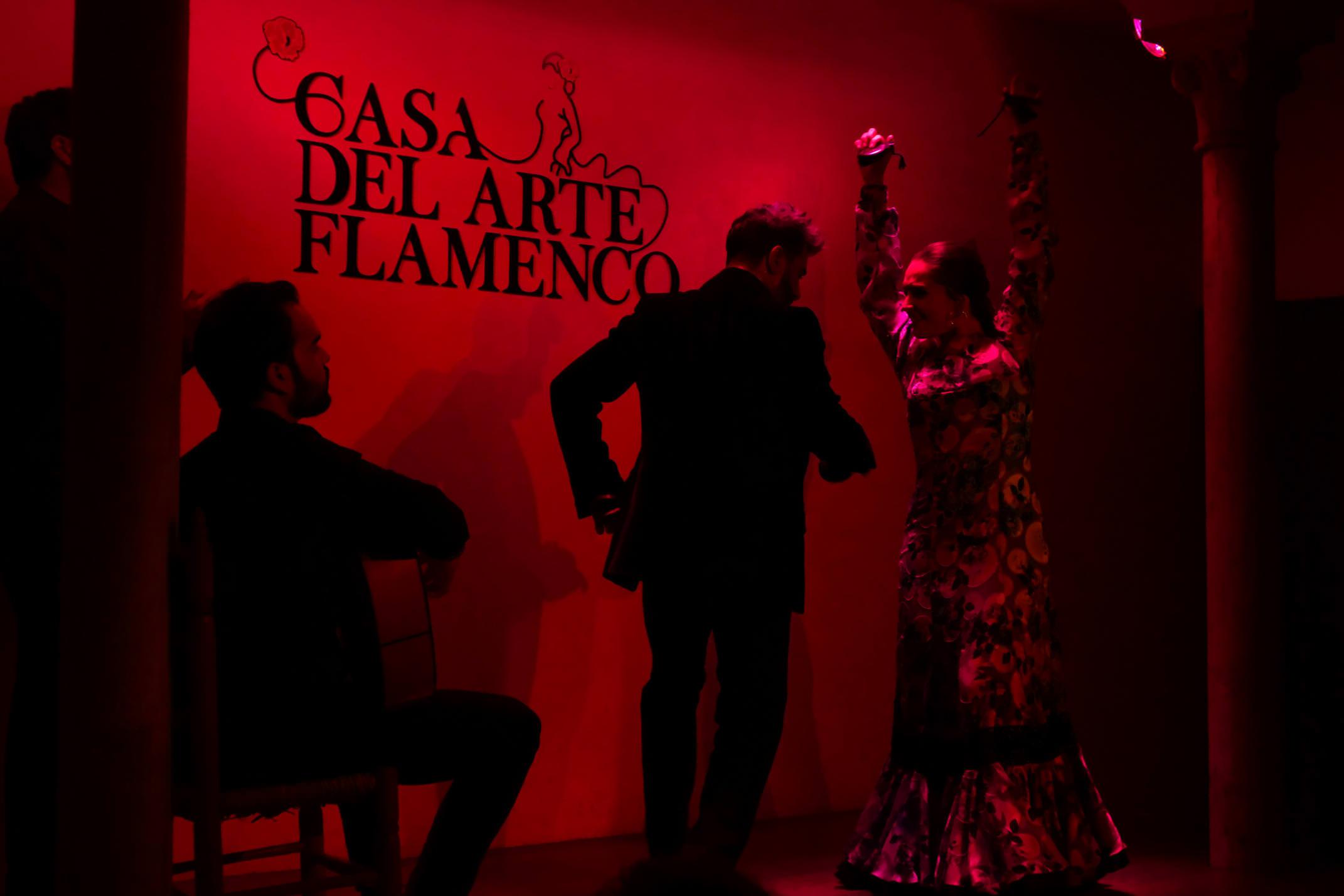 The best flamenco in Granada is found at Casa del Arte Flamenco