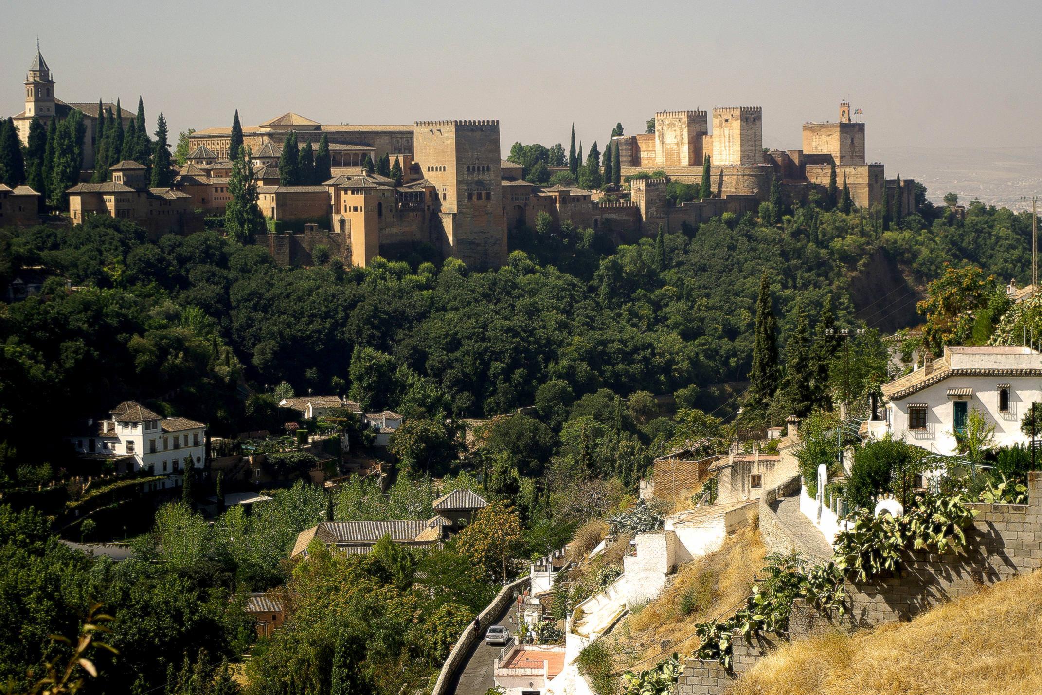 Spain granada alhambra from sacromonte chris bladon