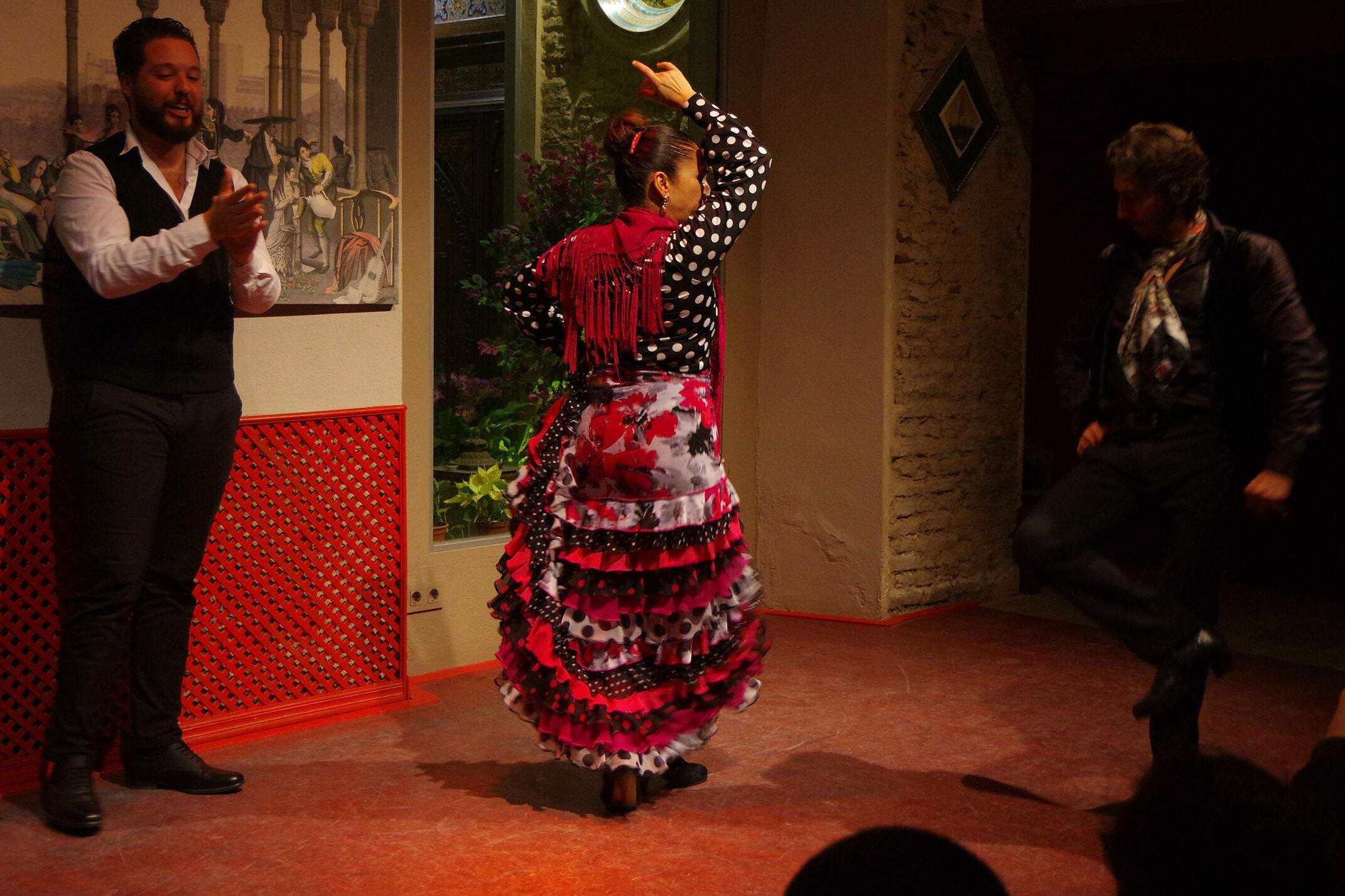 Spain seville flamenco casa de la memoria chris bladon pura